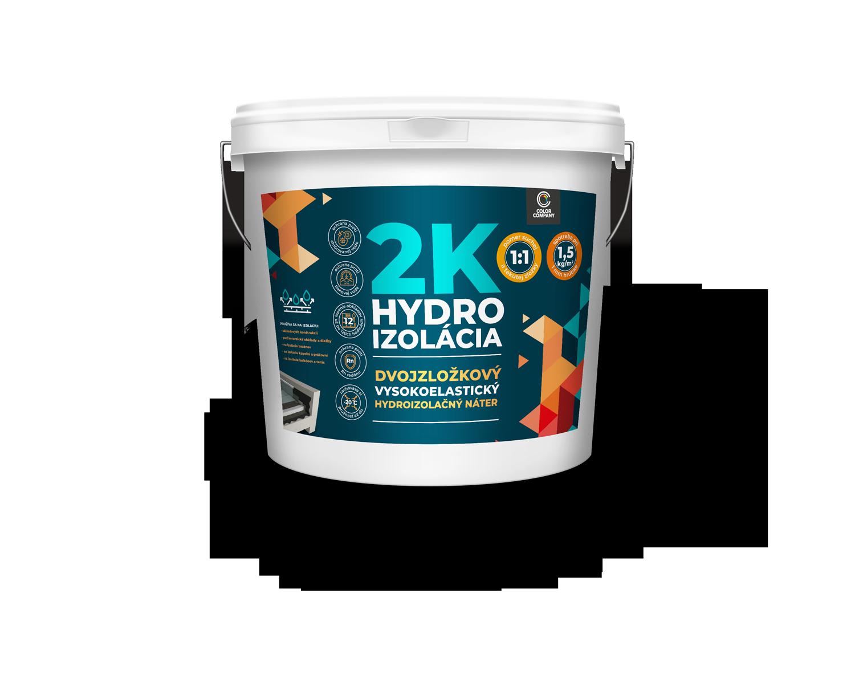 Dvojzložková hydroizolácia 2K